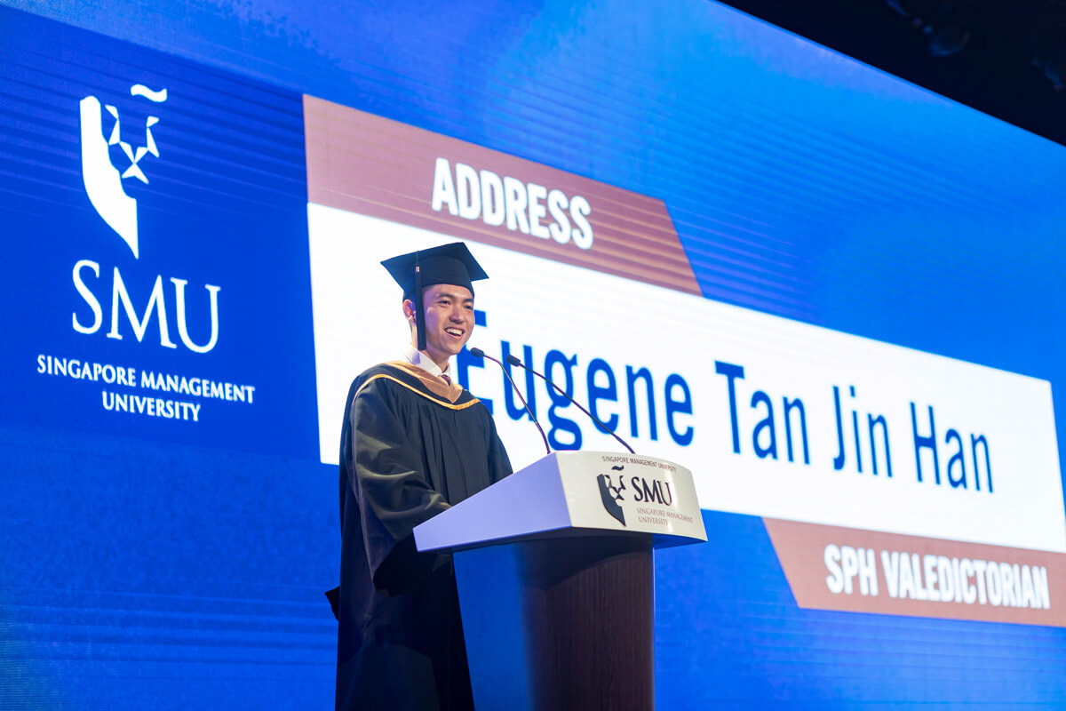 Insights From an Insider: Eugene Tan, SMU-SPH Valedictorian 2019