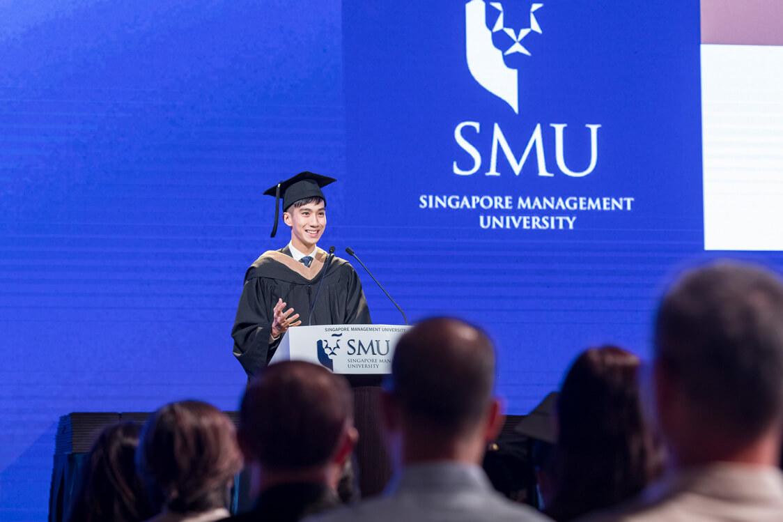 Insights from an insider: Kelvin Fan, Business School Valedictorian 2019
