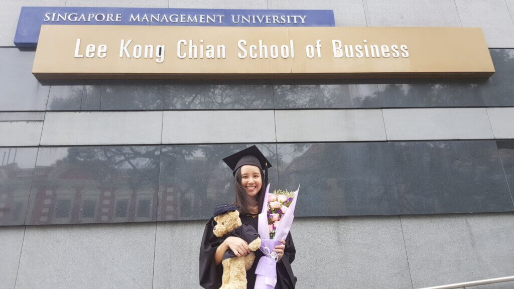 Sheryl Woon graduated from the SMU Lee Kong Chian School of Business in 2017.