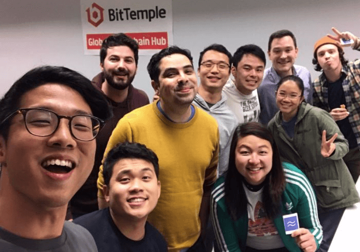 Brandon Ong with the Workstream team.