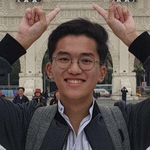 Jonathan Lim, SMU Year One Computing and Law student